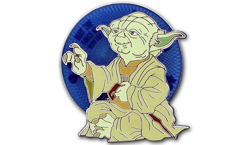 Star Wars™ Weekends 2013 – Yoda Spinner Pin