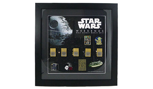 Star Wars™ Weekends 2013 – Framed Pin Set