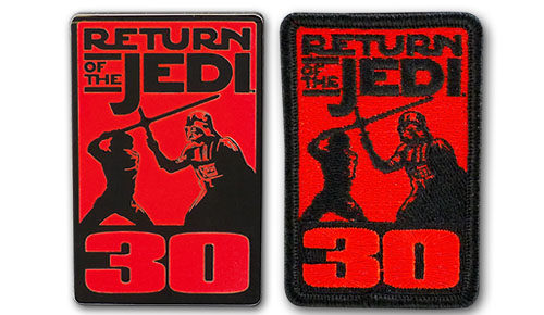 30th Anniversary of Star Wars: Episode VI Return of the Jedi – Pin and Patch