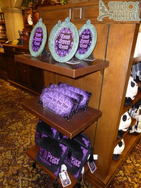 Haunted Manson merchandise at Tower of Terror