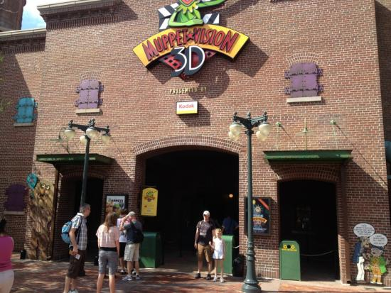 Entrance to Muppet Vision 3D