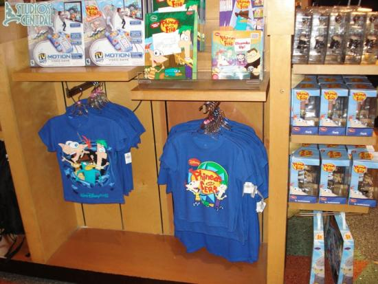 More Phineas and Ferb merchandise