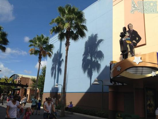 Exterior of Captain Jack Sparrow Experience is starting to get painted