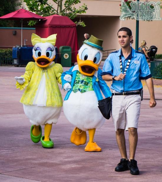 Daisy and Donald too