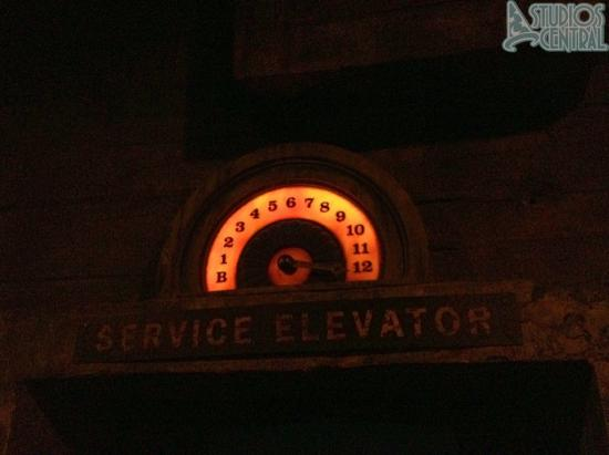 Waiting to ride the Tower of Terror