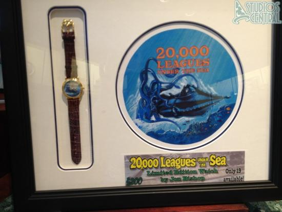 20,000 Leagues Under the Sea Limited Edition watch for sale at Sunset Club Couture