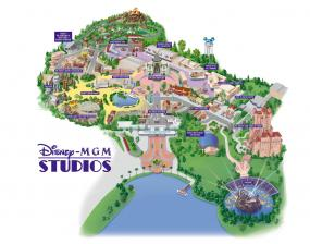 Old MGM Studios Map