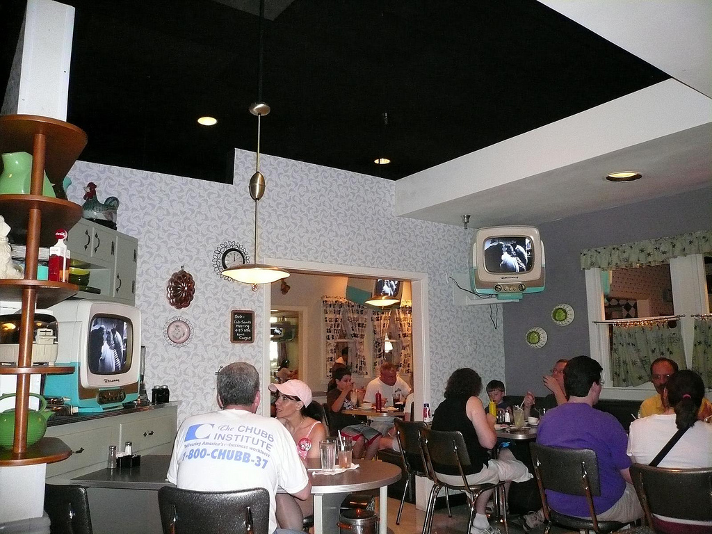 Inside 50's Prime Time Cafe