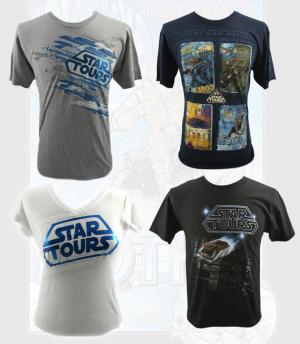 Star Tours 2 Shirts