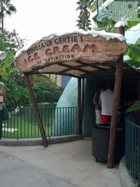 Dinosaur Gertie's is actually open today