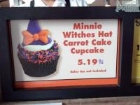 Halloween cupcakes now on sale at counter service restaurants