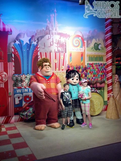 Wreck it Ralph meet & greet is still running